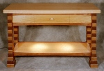 Franco Console Table black walnut, butternut, birdseye maple, white ash 48w x 19d x 30h